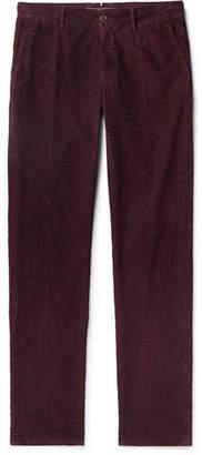 Incotex Slim-Fit Cotton-Blend Corduroy Trousers