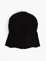 S.N.S. Herning Navy Cable-Knit Real Beanie