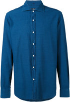 Fay denim shirt - men - Cotton - 43