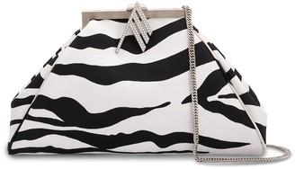 ATTICO Zebra-Print Clutch