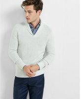 Express textured shawl collar popover