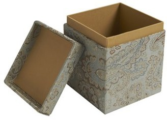 Jennifer Taylor Medium Fabric Covered Storage/Gift Box