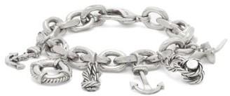 Saint Laurent Nautical-charm Bracelet - Silver