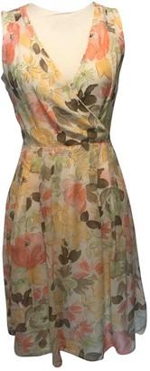 Ann Taylor Multicolour Silk Dress for Women