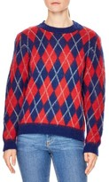 Sandro Women's Jona Argyle Sweater