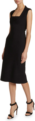 Alaia Knee-Length Sheath Dress