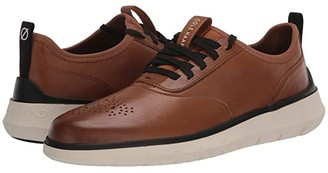 Cole Haan Generation Zerogrand (CH Habana Leather/Perf/Ivory) Men's Shoes