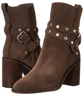 See by Chloe Suede Wrap Heel Bootie with Studs