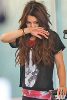 Simdog Peace Tee in Black as Seen On Vanessa Hudgens and Nikki Reed
