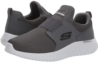 Skechers Depth Charge 2.0 (Charcoal) Men's Shoes
