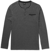 HUGO BOSS Stretch Cotton and Modal-Blend Pyjama Top
