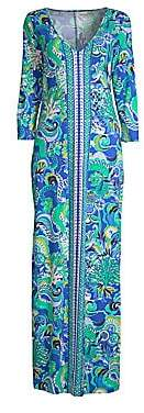 Lilly Pulitzer Women's Anissa Printed Cotton Maxi Dress