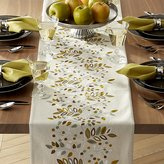 Crate & Barrel Averly Sage Table Runner
