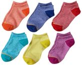 Gold Toe Girls 7-16 GOLDTOE 6-pk. Marled Liner Socks