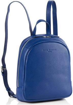 Richmond David Hampton Leather Poppy Mini Backpack In Sapphire