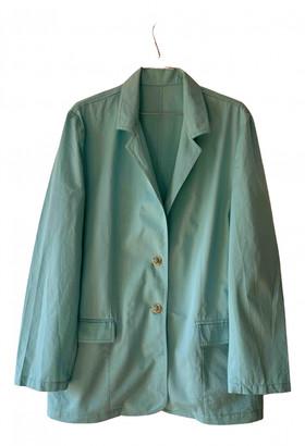 Non Signã© / Unsigned Oversize Blue Cotton Jackets