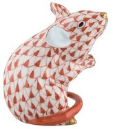 Herend Sitting Mouse Figurine