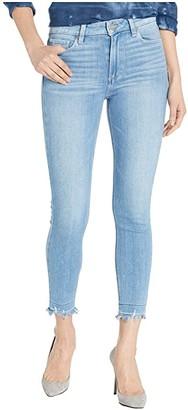 Paige Hoxton Crop w/ Undone Hem in Baybreak Destructed Hem (Baybreak Destructed Hem) Women's Jeans