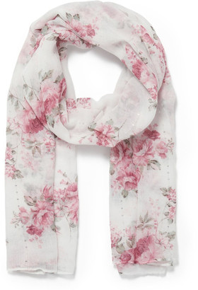 Forever New Kim Floral Print Scarf