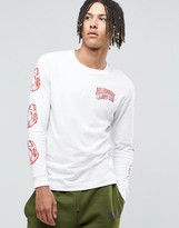 Billionaire Boys Club Long Sleeve T-Shirt With Arm Print