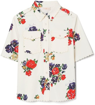 Tory Burch Twill Safari Shirt