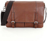 Fossil Graham Leather Laptop Messenger Bag