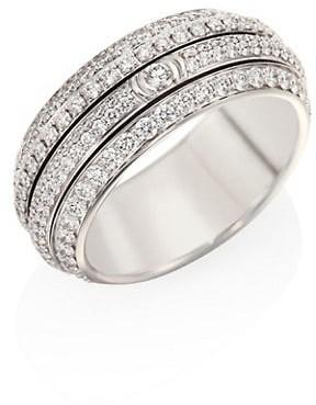 Piaget Possession 18K White Gold & Diamond Ring
