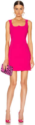 Versace Mini Dress in Fuchsia | FWRD
