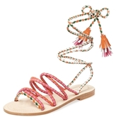Antik Batik Dori Braided Lace-Up Sandal