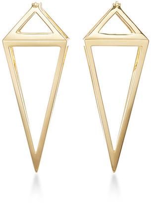 Noor Fares Pendulum 3D Earrings