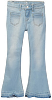 7 For All Mankind A-Pocket Flare Jean (Little Girls)