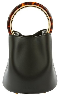 Marni Pannier bag in calfskin leather