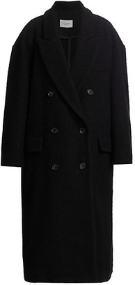 Etoile Isabel Marant Ojima Long Double-Button Coat