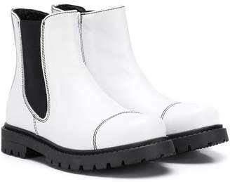 Marni TEEN slip-on ankle boots