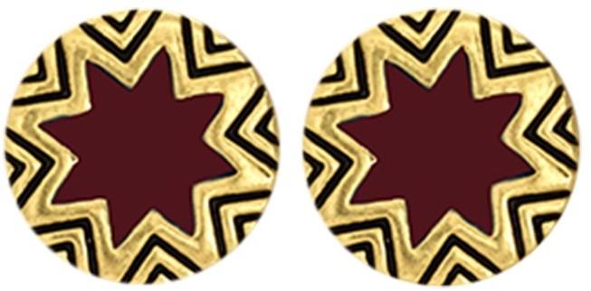 House Of Harlow Mini Sunburst Stud Earrings