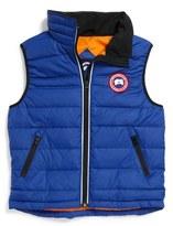 Canada Goose 'Bobcat' Down Vest (Toddler & Little Kid)