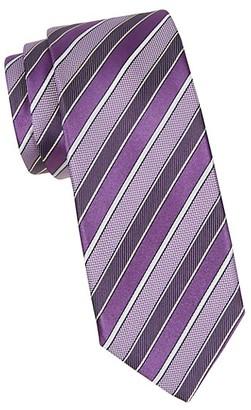 Canali Multi-Stripe Silk Tie