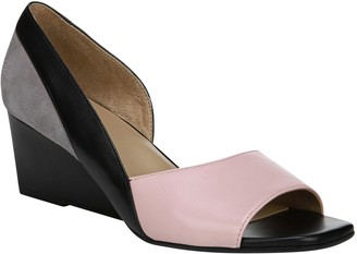 Naturalizer Peep-Toe D'Orsay Wedge Sandals - Zula