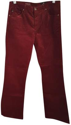 AG Adriano Goldschmied Brown Cotton Jeans for Women