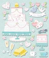 K1 K&Company Wedding Cakes Sticker Medley