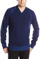 Robert Graham Men's The Cottage-Long Sleeve V-Neck Knit Sweater