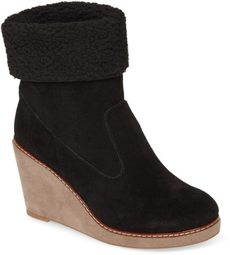 Kensie Holliston Wedge Bootie