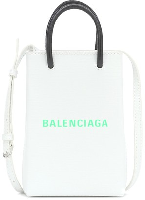Balenciaga Shopping Phone Pouch shoulder bag
