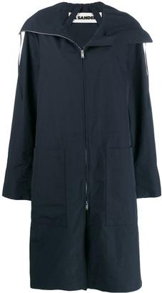 Jil Sander Oversized Parka Coat