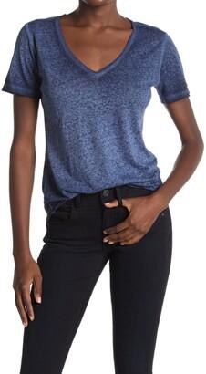 G Star Mysid Optic Slim V-Neck Shirt