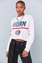 BDG Modern Long-Sleeve Cropped Tee