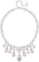 Givenchy Crystal Accented Drama Necklace