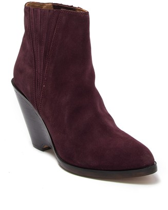 Seychelles Park Suede Wedge Boot
