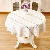 WXTFQB waterproof round tablecloth/ dsposable table mat/tea table mats- 135cm(53nch)