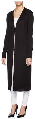 Magaschoni Long Sleeve Maxi Cardigan